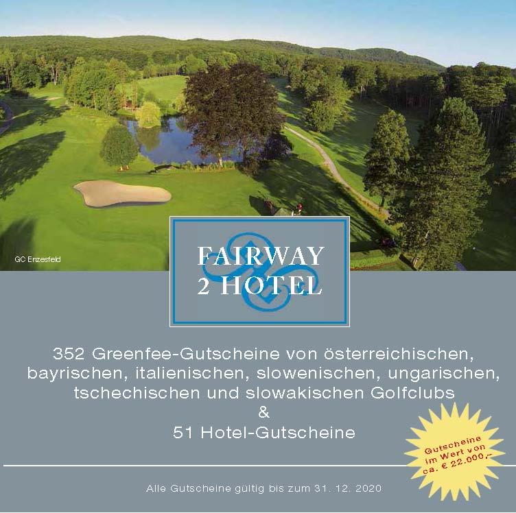 einfach günstig Golf spielen - fairway2hotel